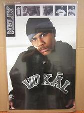 Vintage Nelly 2002 poster rap music artist 3429