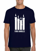 Fork Handles T-Shirt, The Two Ronnies Four Candles Gifts Unisex Adults Top