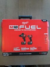 M18 FUEL 18-Volt Cordless Hammer Drill and Impact Driver Combo Kit (2-Tool)