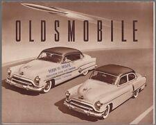 [61396] 1951 OLDSMOBILE AUTOMOBILES SALES BROCHURE (ONTARIO, CALIFORNIA DEALER)