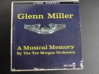 Glenn Miller - A Musical Memory by The Tex Morgan Orch. (Coronet CXS 103 Stereo)
