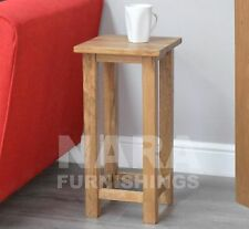 Oak Living Room Less than 30 cm Width Contemporary Tables