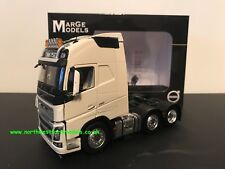 MARGE MODELS 1:32 SCALE VOLVO FH16 6X2 WHITE
