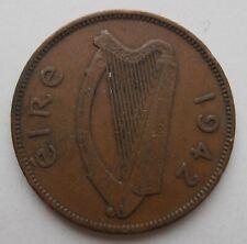 IRELAND HALFPENNY 1942