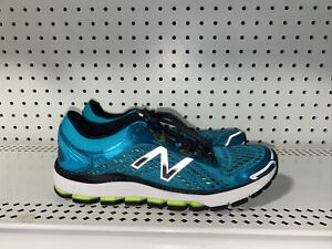 New Balance 1260v7 Womens Athletic Running Shoes Size 9 Blue Neon Green Black