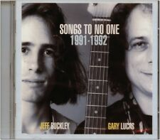 """CD NEUF -  Jeff BUCKLEY & Gary LUCAS - Songs To No One  """" 11 titres """""""