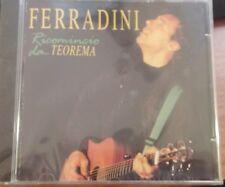 MARCO FERRADINI - RICOMINCIO DA... TEOREMA - CD SIGILLATO (SEALED)