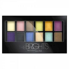 Maybelline New York Expert Wear Eyeshadow Palette 12 Colors, The Brights