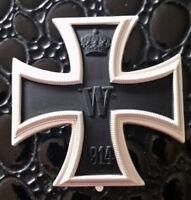 Croix de fer 1ére classe 1914 modèle bombée  - REPRO de belle qualité