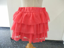 Jupe rose fluo fille taille 12 ans