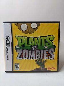Plants vs. Zombies (Nintendo DS, 2011) - CIB Complete w/ Manual
