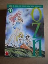 OZN vol.4 - Shiroh Ohno Planet Manga n°8   [G370H]