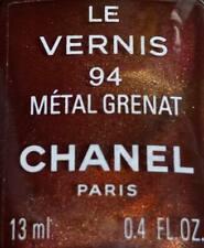 chanel nail polish 94 METAL GRENAT rare limited edition VINTAGE