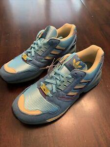 Adidas ZX 8000 Cross Training Shoes Light Aqua Blue FY7686 Men's Size 5