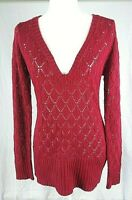 Red Sweater Size Medium Women's