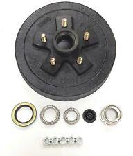 "One 10"" X 2-1/4"" Trailer Brake Hub Drum Kit 5 on 4.5"" for 3500 lbs axle - 22001K"