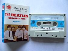 Rare Vintage THE BEATLES Saudi Arabia Unofficial Import Cassette Mona Lisa Label