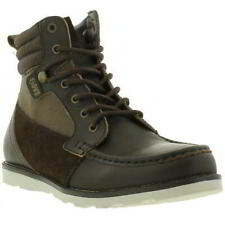 DVS Bishop Mens Brown Soft Leather Lace Up Ankle Boots Size UK 11