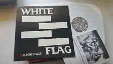 White Flag S Is For Space 1982 Punk 1st Press Orig Insert NM JC 9001 LP SIGNED!!