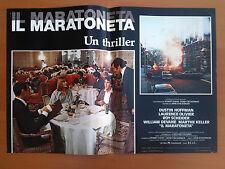 IL MARATONETA fotobusta poster affiche Marathon Man Dustin Hoffman Marthe Keller