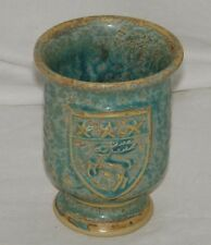 Moville Ireland Pottery Grog Mug Cup Stag Galaxy Green Reindeer Stars 19198
