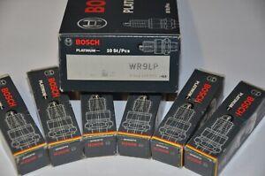 Bosch Platinum WR9LP Spark Plugs NEW (6) Ford XF XG XH EA EB ED EF EL AU 6 CYL
