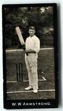 More details for tobacco card, f & j smith, cricketers, cricket,1st series,1912,w w armstrong,#42