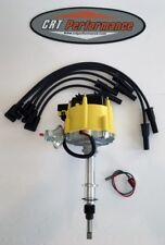 NEW Jeep AMC GM HEI Distributor + Plug wires USA CJ5 CJ7 YJ 258 - DROP IN READY