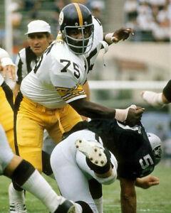 """Mean"" Joe Greene - Steelers, 8x10 Color Photo"