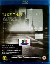 Take That - Look Back Don't Stare Music Blu-Ray 2010 *Brand New And Unsealed*