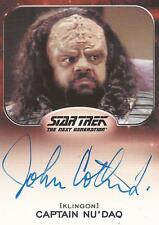 "Star Trek Aliens - John Cothran Jr. ""Captain Nu'Daq"" Autograph Card"