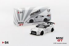 MINI GT 1/64 Liberty Walk LB Works Nissan GT-R (R35) (White) MGT00064