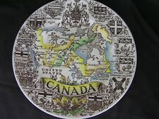 CANADA Souvinir Plate Wood & Sons England Hand Colored