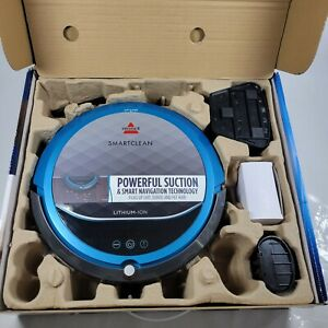 Bissell 1974 SmartClean Robot Vacuum Open Box Return Complete