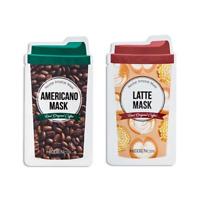 HIDDENCOS / Coffee Mask 23g (Americano / Latte) / Free Gift / Korean Cosmetics
