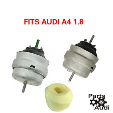 AUDI A4 1.8 1.8T Engine Motor Mount Mounts SET KIT PAIR AS OE