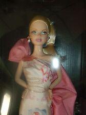 2010 Rose Splendor Barbie Doll- Avon - Pink Label NRFB