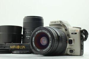 【EXC+5】 Minolta Alpha Sweet S α SLR camera body w/Sigma zoom Lens 2 set Japan