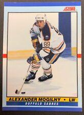 1990-91 Score Young Superstars - #26 Alexander Mogilny - Buffalo Sabres
