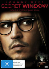 Secret Window  - DVD - NEW Region 4
