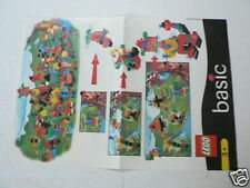 LEGO BROCHURE FLYER CATALOG TOYS 1999 BASIC DUTCH 2 PAGES 080