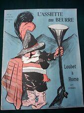 L'Assiette au Beurre #160 President Émile Loubet 1904 French Satire Art