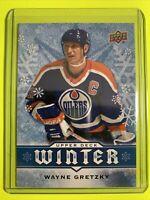 2017 Upper Deck Winter #W3 Wayne Gretzky Edmonton Oilers Legend