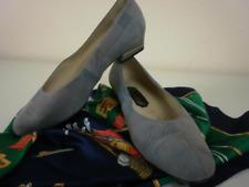 Dorndorf Pumps Schuhe Ballerina Slipper Grau Blau 90er True Vintage Patchwork