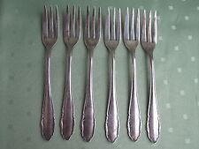Sechs schöne WMF Kuchen-Gabeln aus 800er Silber in Dekor 2200