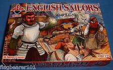 Redbox 72081 inglés marineros. escala 1:72 De Plástico Sin Pintar