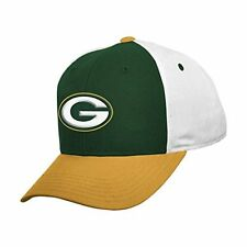 Green Bay Packers NFL Youth Boys 8-20 Adjustable Team Colors Logo Hat/Cap