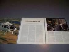VINTAGE..EUROCOPTER EC 135 P1 HELICOPTER...SPECS/HISTORY/PHOTOS...RARE! (974P)
