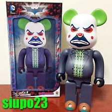 Medicom 400% Bearbrick ~ DC Comics The Joker Be@rbrick Bank Robber Ver Batman
