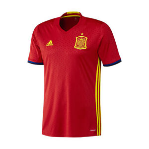 Adidas Spanien Fussball Trikot Herren Kinder Shirt Trainings Fanartikel S  NEU